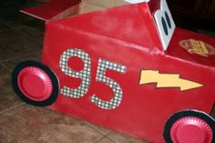 Kids cars (cardboard) race anyone? What to do with the last couple weeks of summer? Why not invite your little ones friends over and spend the last couple weeks of summer outside with a car race ma…