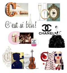 """""C"" Notes"" by unbodiedjoy ❤ liked on Polyvore featuring Chanel, Ladurée, LSA International, Loquet, Kate Spade, Chicwish, Valentino, TONYMOLY and ABCRhydin"