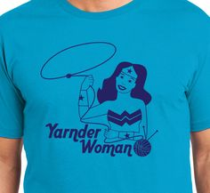 Yarnder Woman Justice League Knitting Luxury Soft by HeyThatsSuper
