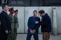 America's biggest movie theaters will not show 'The Interview' after threats. Threats posted by the people who hacked Sony Pictures appear have had the desired effect. The Wall Street Journal and The Dec 17, 204 - Hollywood Reporter both state, based on anonymous sources, that the largest movie chains will not debut the movie next week. [Developing...]
