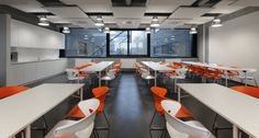 Thrombogenics Lunch Room. Office Design by Buroproject.be