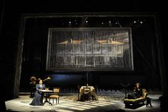 Three Sisters. Steppenwolf Theatre. Set design by Todd Rosenthal.
