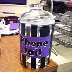 """Keep students from texting in class with """"cell jails."""" 