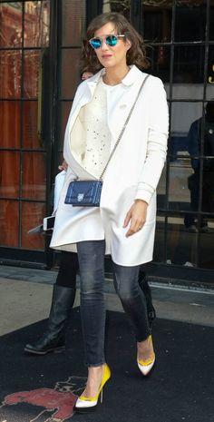 Marion Cotillard Returns to Bowery Hotel