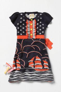 Navy and orange...adorable