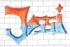 Graffiti Grundschule Klasse 5 Schrift Pinterest