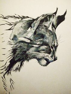 Bastian, an Ailuro shapeshifter, as lynx. 9th Life by Wendy Beck (Lynx by Zombiraptor)