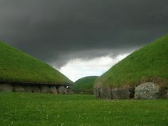 Knowth ancient Irish site in the Boyne Valley