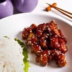 This addictive sesame chicken is much easier to prepare than the ingredient list indicates. Serve over lots of hot jasmine rice.