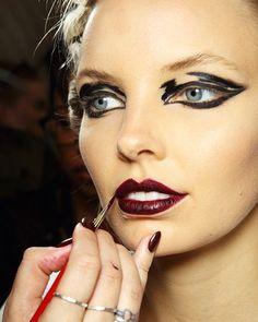 Phoenix Keating, M∙A∙C cosmetics Sydney Fashion Week #makeup