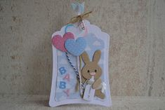 by Maura: Baby op komst Baby Bunnies, Bunny, Marianne Design, Baby Cards, Doilies, Baby Design, Cardmaking, Design Inspiration, Baby Shower