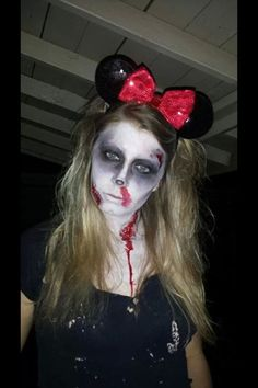 minnie mouse makeup for halloween - Google Search