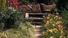 Znalezione obrazy dla zapytania ogrody na zboczu