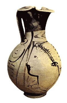 Another local Etruscan (Adriatic type) jug, fourth-third centuries BC NMF