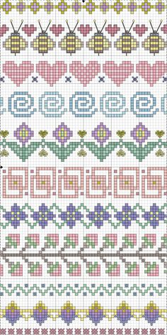 Spring plus some neutral edging motifs