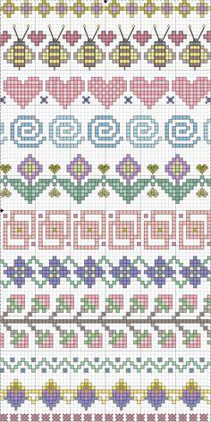 Spring plus some neutral edging motifs