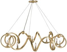 South Shore Decorating: Currey and Company 9490 Ringmaster Modern / Contemporary Chandelier CNC-9490