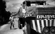 The Wages Of Fear, (aka Le Salaire De La Peur), Charles Vanel, Yves Montand, 1953 Movies Photo - 61 x 46 cm Beau Film, Air France, Movie Photo, I Movie, James Movie, Movie Scene, Grand Prix, The Wages Of Fear, Cannes