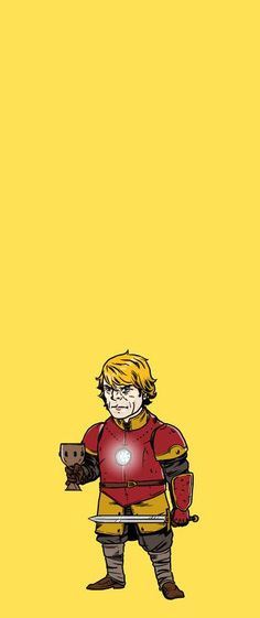 Tyrion Lannister as Iron Man.