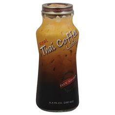 Taste Nirvana Real Thai Coffee - Latte - Case of 12 - 9.5 Fl oz.