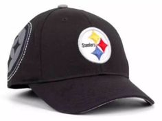 Pittsburgh Steelers Women's Reebok Official Slouch Relaxed Fit Strapback Cap Hat #Reebok #PittsburghSteelers