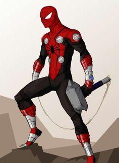 What if spiderman had mjlnor