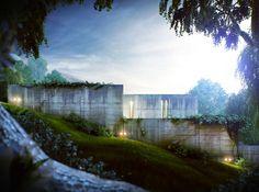 Satoshi Okada architects, House on Normafa ... at Sixten Sason in wonderland