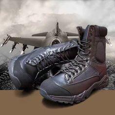 Men high tube ultralight leather mesh breathable desert tactical boots women outdoor airborne hiking climbing trekking shoe bota