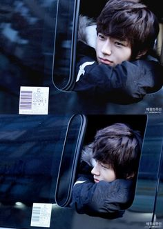 Candid shots by fans of INFINITE's L on par with a profession photo shoot. He's really good loocking;)