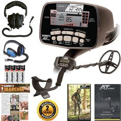 Treasure Mountain Detectors - Garrett AT Pro Metal Detector with Submersible Headphones, $679.90 (http://treasuremtndetectors.com/garrett-at-pro-metal-detector-with-submersible-headphones/)