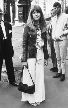 Jenny Boyd - model, sister of Pattie Boyd (George Harrison's first wife) & at one time wife of Mick Fleetwood.