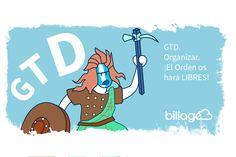 GTD. Organizar. El orden os hará libres  > En #GTD, organizar significa separar los recordatorios según su significado * @AlbizuM  #productividad
