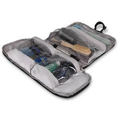 The Pack Flat Toiletry Bag - Hammacher Schlemmer