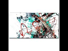 Abstract painting session demo by zAcheR-fineT - watch us paint together - YouTube