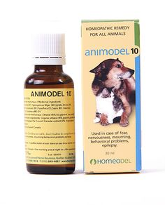 Animodel 10 : Fear, Nervousness, Mourning, Behaviour, Epilepsy Homeopathic formula that helps relieve : Fear Nervousness Mourning Behavioural problems Epilepsy 30 ml