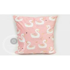 Υφασμάτινο μαξιλάρι με κύκνους σε baby pink Mpomponieracenter.Gr | Μπομπονιέρες Βάπτισης | Μπομπονιέρες Γάμου |Προσκλήσεις | Κέρασμα μαιευτηρίου | Κέρασμα γέννας | Υλικά για μπομπονιέρες | Ξύλινα διακοσμητικά| Γούρια 2019 Throw Pillows, Baby, Toss Pillows, Cushions, Decorative Pillows, Baby Humor, Decor Pillows, Infant, Babies