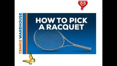 How to Pick A Tennis Racquet We suggest the best way to choose a tennis racket. We hope it will be of great help to you<br> Tennis Warehouse, Rackets, Tennis Racket