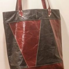 Modern Sassy Fashion Leather Tote