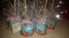 Sheriff Callie candy apples