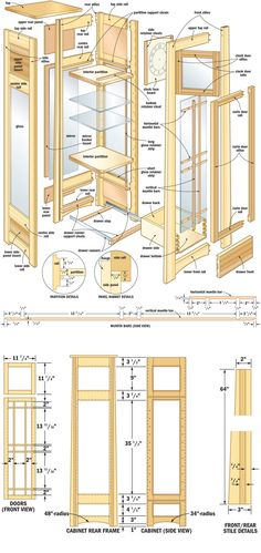 Free Woodworking Plans Curio Cabinet Workshop Projects And Plans