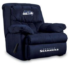 Root for your favorite team in style! Coordinate with matching Seahawks Furniture.