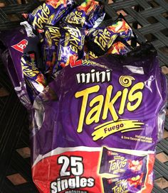 Repin, if you're hungry for a lil snack. #MiniTakis #Takis #Fuego