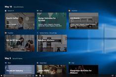 حوحو : تعرف على ميزة الـ Timeline الجديدة التي أضافتها مايكروسوفت إلى الويندوز 10 والأشياء المهمة التي ستفيدك فيها