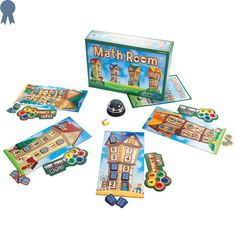 Math Room - SimplyFun Educational Board Games, Math Board Games, Math Boards, Learning Games, Math Games, Kids Learning, Maths, Addition And Subtraction Practice, Games To Buy