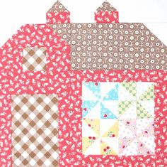 Bee In My Bonnet: The Quilty Barn Along Number 7 and Easy Pinwheel Block Tutorial...