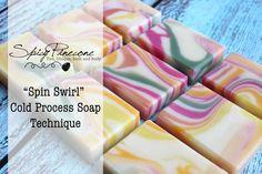 Spin Swirl - Cold Process Soap Technique