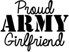 5 Proud ARMY Girlfriend Decal by CharmingVinyl on Etsy, $5.00
