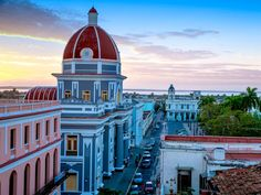 Most of the neoclassical buildings in the historic city center of Cienfuegos remain unharmed by human touch, but because of the city's location on the bay, several of the structures have been damaged by hurricanes. While renovations occur after a natural disaster, the city center is still considered to be the best example of 19th-century urban-planning principles used by the Spanish. The streets are designed to be straight and symmetric, with monumental buildings lining them on each side…
