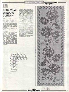 Gallery.ru / Фото #56 - Crochet Filet pour Point de Croix 1 - Mongia