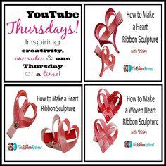 Heart Ribbon Sculptures, YouTube Thursdays! - The Ribbon Retreat Blog